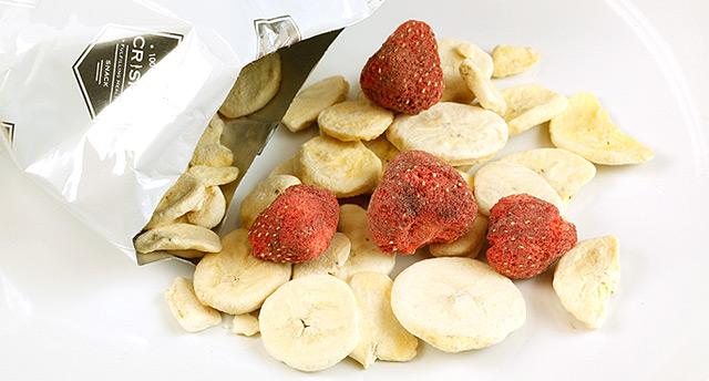 泰国冻干草莓香蕉脆片